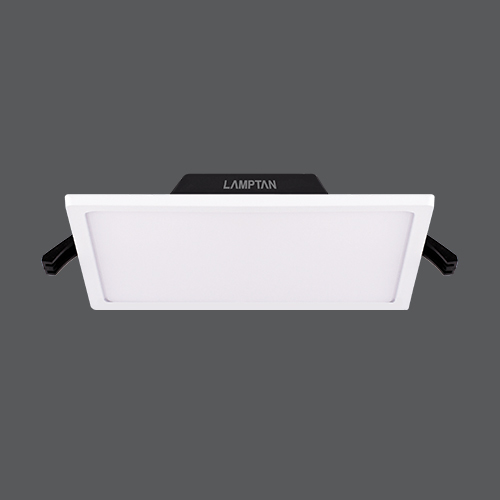 Led downlight slim edge square web