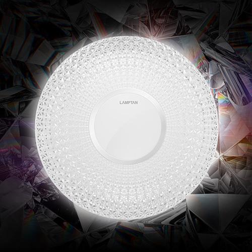 Led multi smart ceiling lamp prism 24w web1