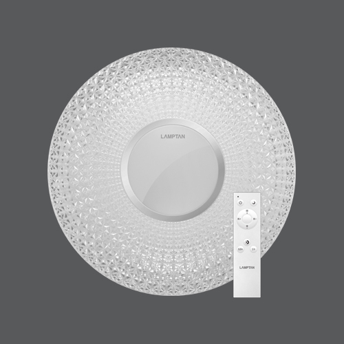 Led multi smart ceiling lamp prism 24w web