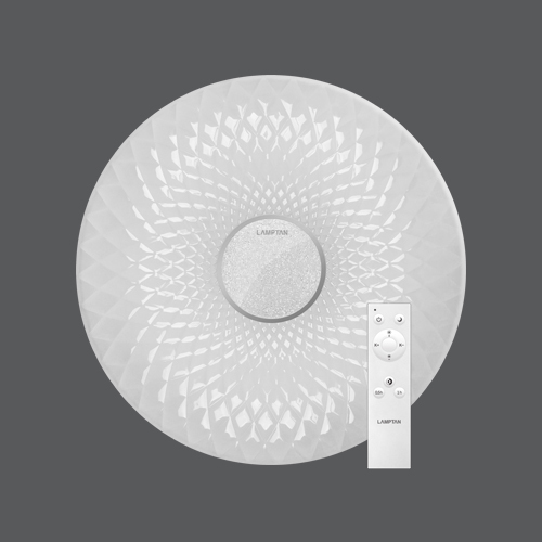 Led multi smart ceiling lamp floret 60w web