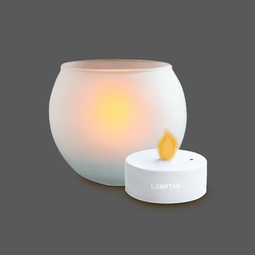 Led candle lamp ball shape web