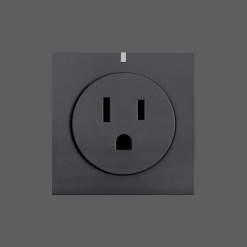 Smart wifi socket grey