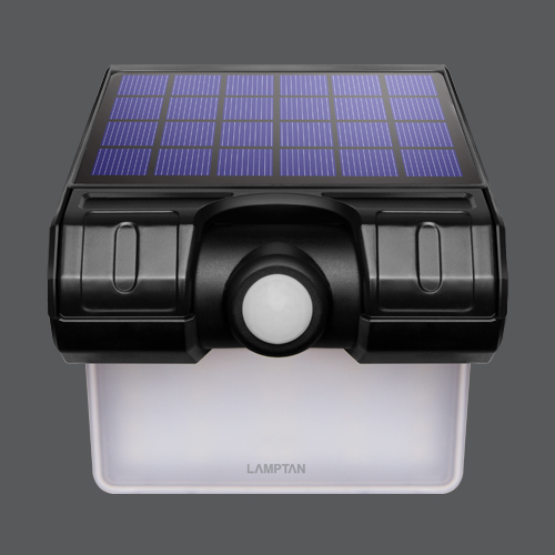 Led solar smart sensor swing web4