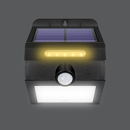 Led solar smart sensor twist web4