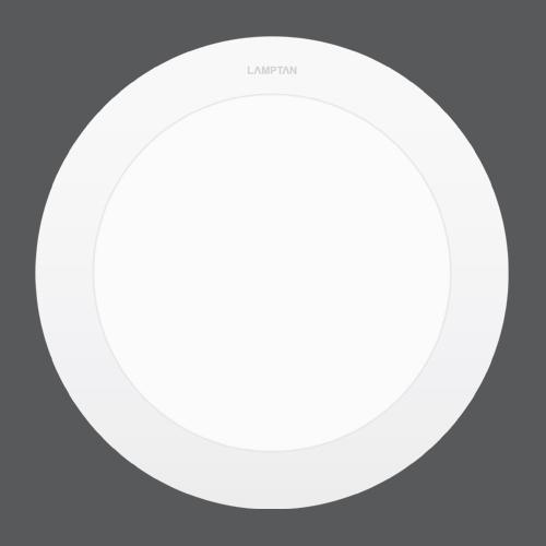 Led downlight ultra slim circle front web