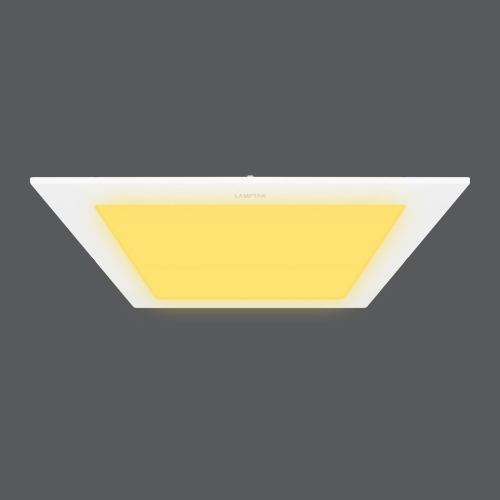 Led downlight ultra slim square per ww web
