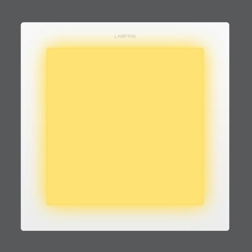 Led downlight ultra slim square front web