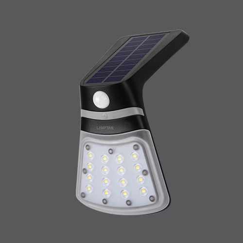 Led solar smart sensor ray 2w web05