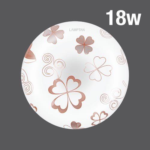 Led ceiling lamp clover 18w web01