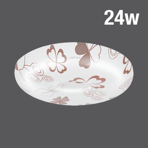 Led ceiling lamp clover 24w web02
