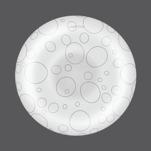 Led ceiling lamp bubble 24w web01
