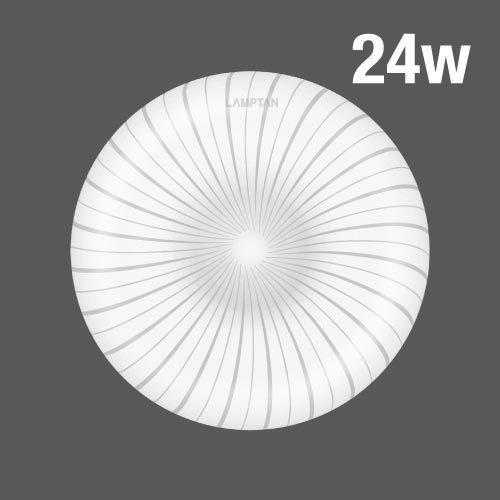 Led ceiling lamp windy 24w web01