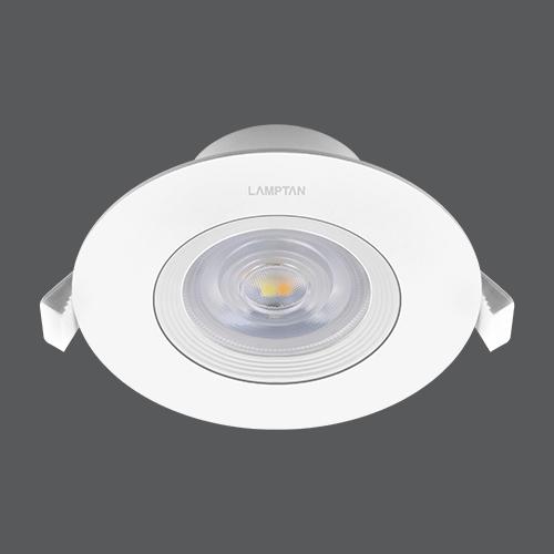 Led spotlight colour choice circle 7w per web