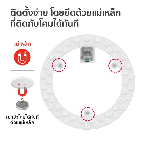 Led lens module 36w web8