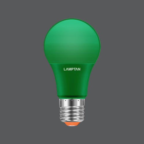 Led bulb colour 7w green web