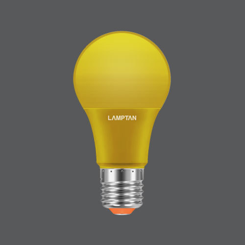 Led bulb colour 7w yellow web