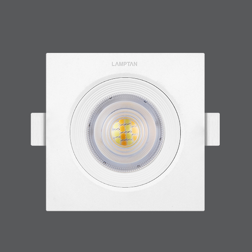 Led spotlight colour choice square 7w front web