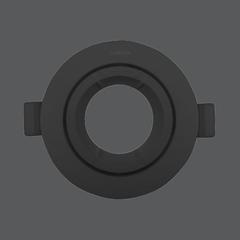 Mr16 fixture black web1