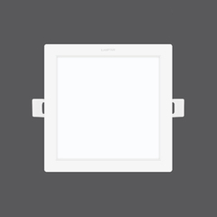 Downlight colour switch decide square web