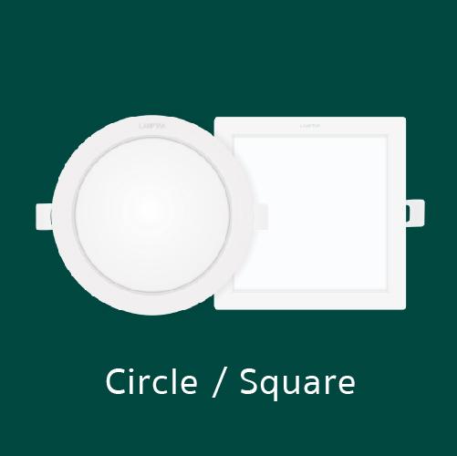 Downlight colour switch decide square web06