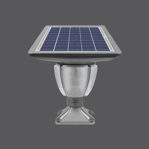 Solar pole light ss deluxe 10w web01
