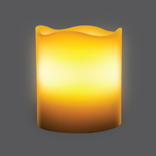 Candle lamp melt edge remote web2