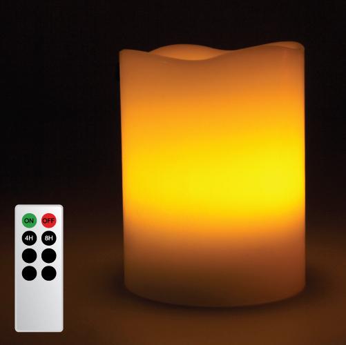 Candle lamp melt edge remote web5