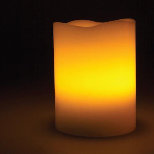 Candle lamp melt edge web3