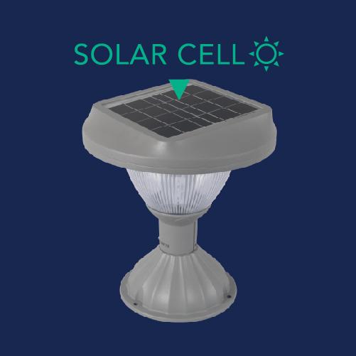 Solar pole light ss doric 6w web 03