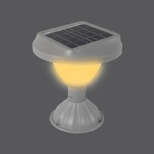 Solar pole light ss doric 6w web 09