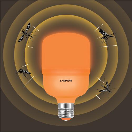 Led high watt t bulb anti mosquito web 10
