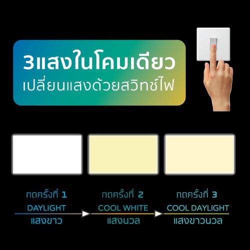 Panel light colour switch web 10