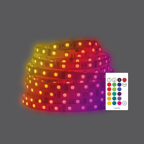 Smart wifi striplight rgb ww web01
