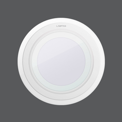 Led downlight glass glow circle web1
