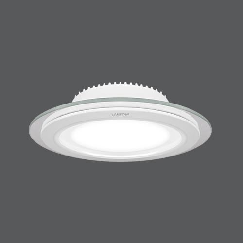Led downlight glass glow circle web2