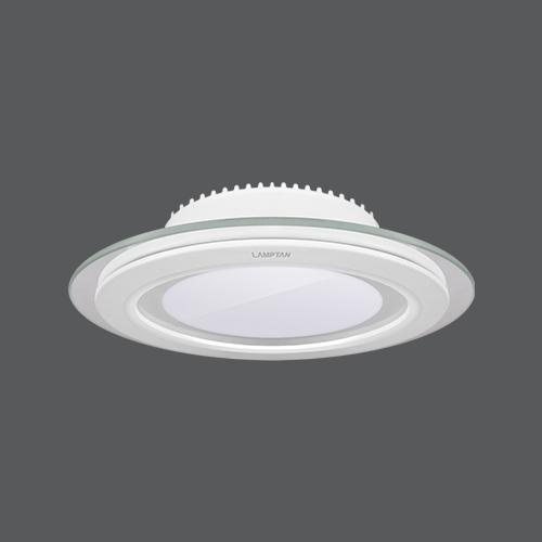 Led downlight glass glow circle web3