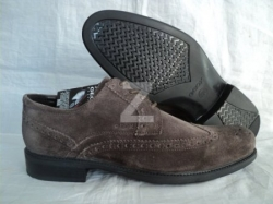 Geox U Carnaby Suede Dark Brown