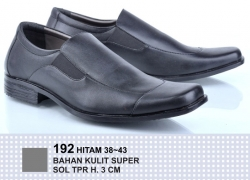 Sepatu Kantor Pantofel - Hitam