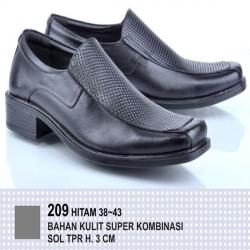 Sepatu Formal Kulit Kombinasi 209