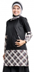 Grosir : Busana Blouse Mutif 43 Hitam