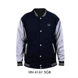 Jaket Pria HN-4161 SGB Hitam + Abu