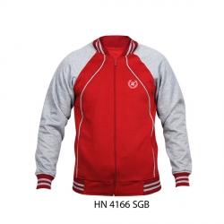 Jaket Pria HN-4166 SGB Merah + Abu