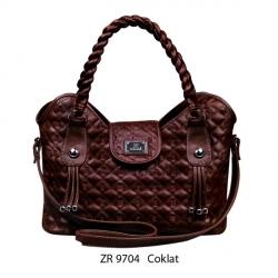 Tas Wanita ZR-9704 Coklat