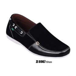 Sepatu Casual Hitam - Slop