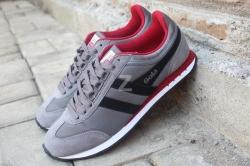 Sepatu Gola Boston Grey - Black - Red