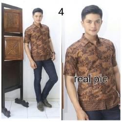 Hem Batik Pria - Motif Kembang
