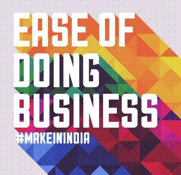 Startup/Making Doing Business Easier in India