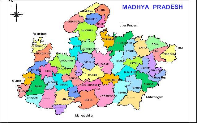 Residents of Madhya Pradesh