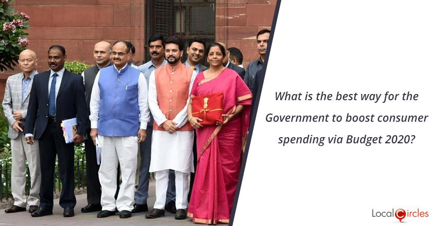Budget 2020: What is the best way for the Government to boost consumer spending via Budget 2020?