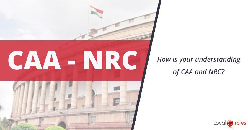 How is your understanding of CAA and NRC?